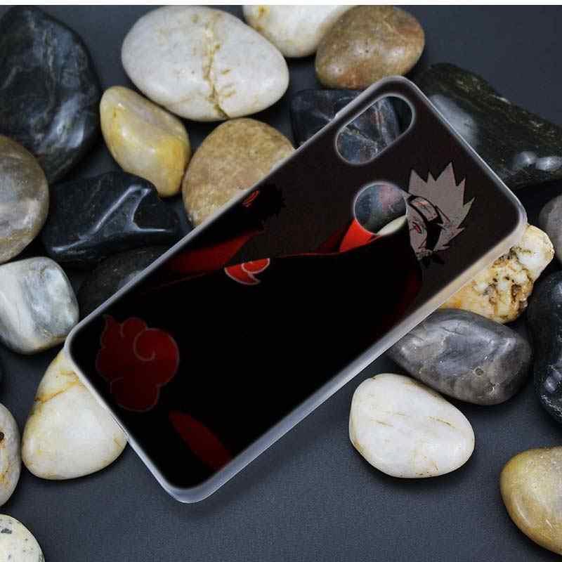 PC Case untuk Xiao Mi Merah Mi Note 7 K20 Pergi 6 6A Pro S2 Mi 9T Bermain 8 lite A2 A1 Keras Fundas Capa Anime CAS Ponsel Cover Naruto Kakashi