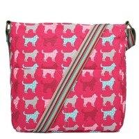 MISS LULU Women And Girl Shoulder Bag A4 Notebook Bags Women Messenger Bags School Bags Canvas