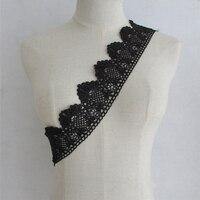 Beautiful Handcraft Width 6 8cm Selling Lace Ribbon 15 Yard Lot Embroidered Net Lace Trim Fabric