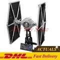 2017 Nueva LEPIN 05036 1685 Unids Serie Star Wars TIE Fighter Kits de Edificio Modelo Bloques Ladrillos Compatibles Juguetes Para Niños de Regalos 75095