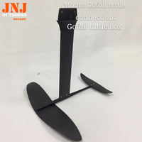 carbon hydrofoil for surfboard and sup boards with different connection head