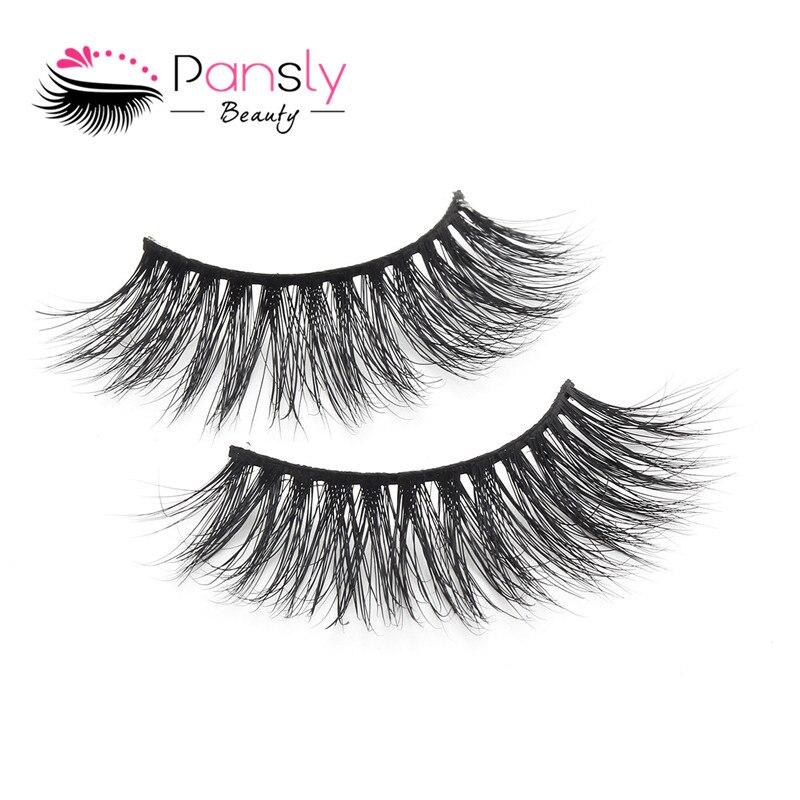 b85a9e32cff Frumusete essentials PANSLY False Eyelashes rzesy 3d Mink Eyelashes  Extension under 5 loupe eyelash Makeup grafted lashes 1 Pairs mink lashes  pack