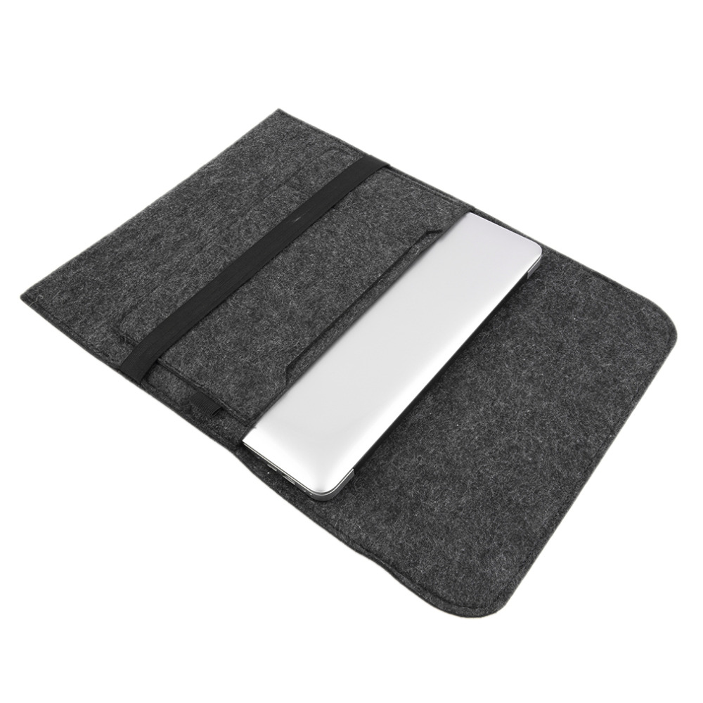 2017 NEW Fashion Laptop Cover Case For Macbook Pro/Air/Retina Notebook Sleeve bag 13 15 Wool Felt Ultrabook Sleeve Pouch Bag