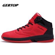 2016 Men font b Basketball b font Shoes Comfortable Lace Up Men Ankle Boots Style Culture