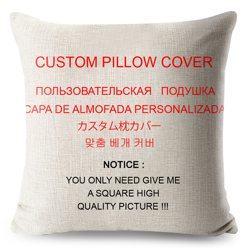 ٩^‿^۶Wholesale Wedding Party Gift Customized Cushion Cover Sofa Gorgeous Customized Pillow Covers