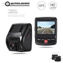 T690C Скрытая автомобильный видеорегистратор камеры 170 градусов регистраторы 2160 P UHD Новатэк 96663 GPS Logger g-сенсор автомобильный для вождения видео регистратор Blackview