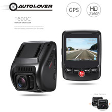 T690C Hidden Car DVR font b Camera b font 170 degree Dash Cam 2160P UHD Novatek