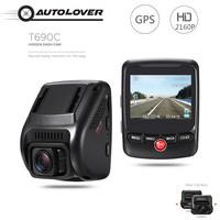 T690C Hidden Car DVR Camera 170 Degree Dash Cam 2160P UHD Novatek 96663 GPS Logger G