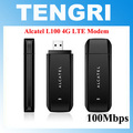 Original Unlocked Alcatel L100 100Mbps 4G LTE USB modem dongle 4G FDD 800/900/1800/2100/2600MHz