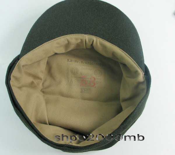Collectable M43 WWII German Elite Military ARMY Field Hat Wool Cap3