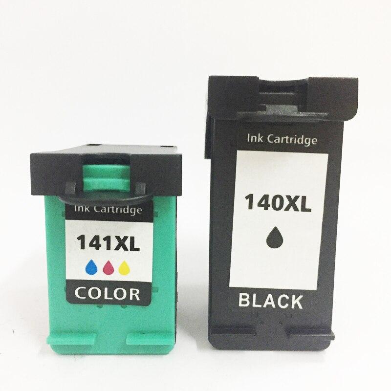 Einkshop 140xl 141xl Compatível lInk Cartucho de Substituição para HP 140 141 XL Deskjet D4263 D4363 C4583 C4283 C4483 C5283 D5363