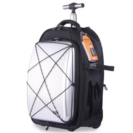 05c00475405 Oversized capaciteit, rugzak, Trolley, School Reizen Koffer, luchtvaart  buitenland Gecontroleerd tas, Rolling Bagage in Oversized capaciteit, rugzak,  ...