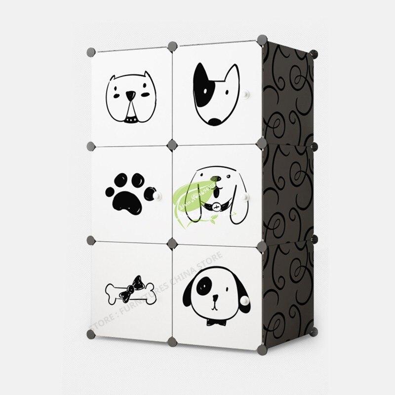 Modern Home Furniture Bedroom Storage plastic Cabinet Wardrobe font b Closet b font Organizer font b