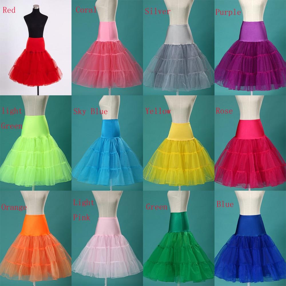 Best Selling Short Organza Petticoat Crinoline Vintage