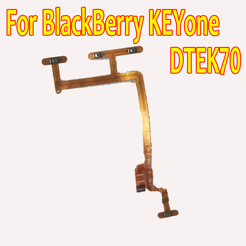 Best Quality Power on / off switch & Volume Side Key Buttons Flex Cable For BlackBerry Keyone DTEK70 DTEK 70 Phone partsBest Quality Power on / off switch & Volume Side Key Buttons Flex Cable For BlackBerry Keyone DTEK70 DTEK 70 Phone parts