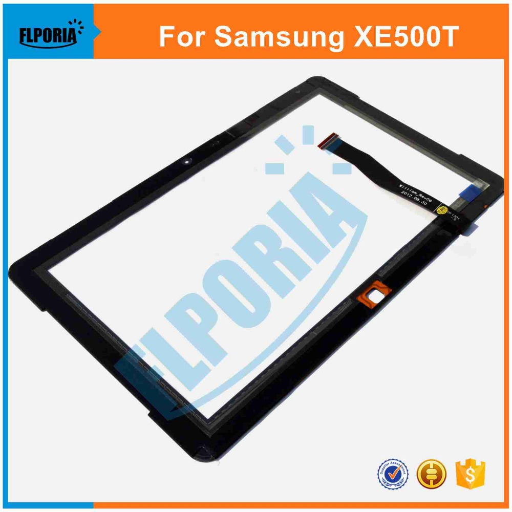 Tablet Touch Panel For Samsung ATIV Smart PC XE500T Touch Screen Digitizer Glass with Flex Cable Assembly 100% New tablet touch panel 10 1 inch for asus me302 touch screen digitizer front glass with flex cable assembly 100% new