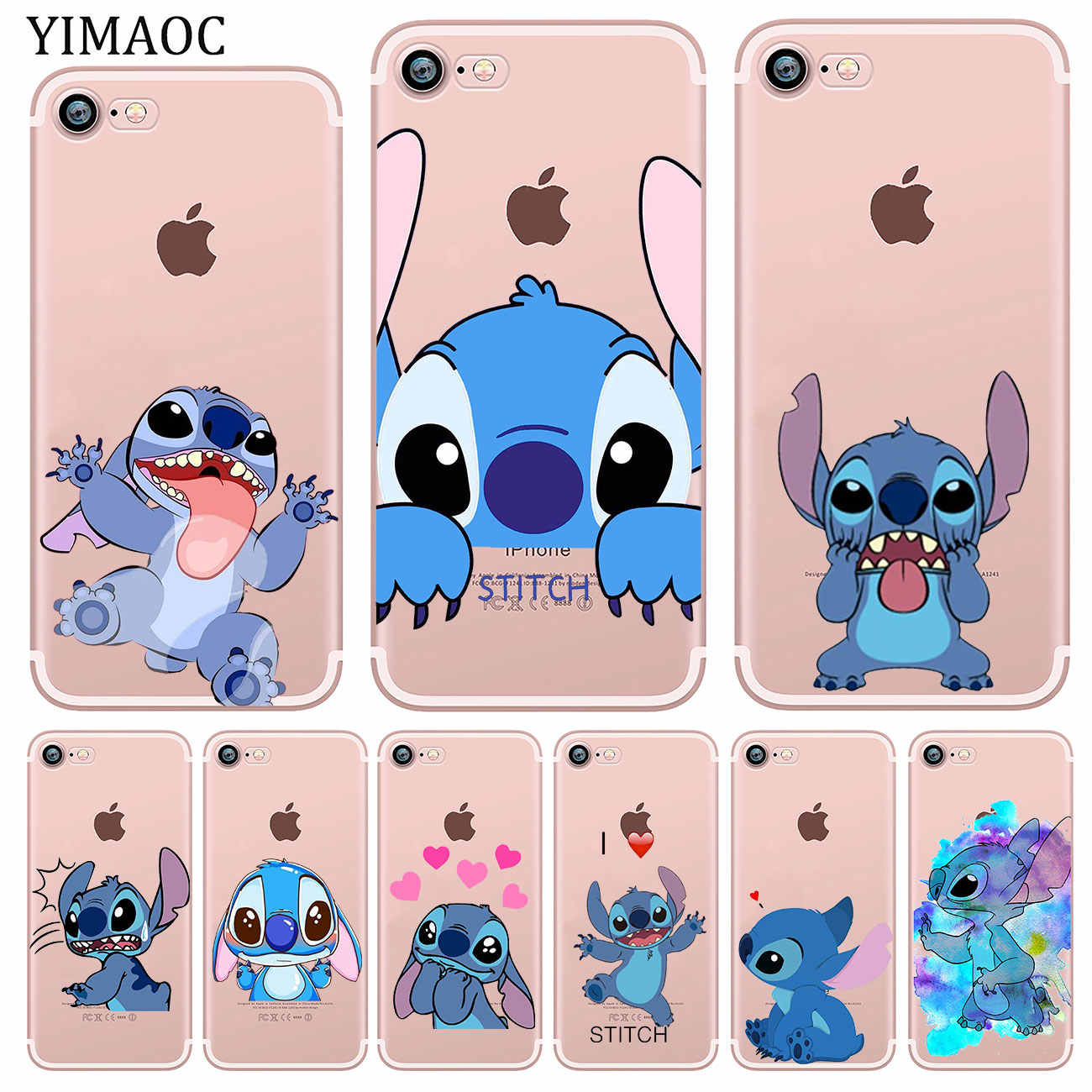 Babaite cute cartoon Lilo Stitch Phone Case Cover for iphone
