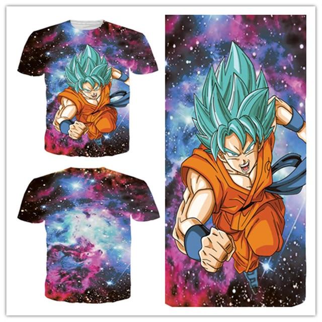 Dragon Ball Z Goku O Neck T-shirts