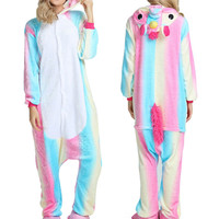 Wholesale Animal Stitch Unicorn Panda Bear Koala Pikachu Adult Unisex Cosplay Costume Pajamas Sleepwear For Men