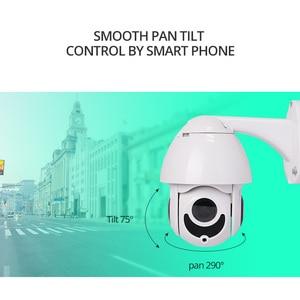 "Image 4 - Wetrans PTZ IP מצלמה חיצוני POE Onvif 1080P HD 4X זום 2.5 ""מיני PTZ כיפת מצלמה טלוויזיה במעגל סגור עבור אבטחת בית מעקב וידאו מצלמת"