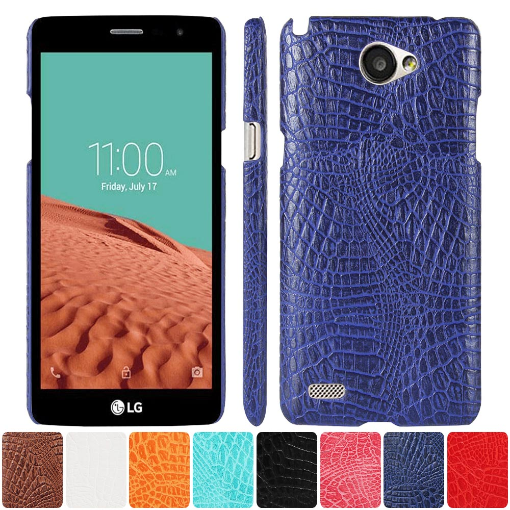 Leather Case for <font><b>LG</b></font> <font><b>Max</b></font> X155 LGX155 <font><b>LG</b></font>-X155 X <font><b>155</b></font> Phone Bumper Fitted Case for <font><b>LG</b></font> L Bello II / Prime 2 X150 X165 Hard PC Cover image