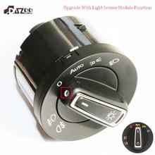 Nuevo interruptor de la lámpara de la cabeza del faro delantero de DAZOO con el módulo del Sensor de luz para V W Golf J ETA MK5 6 tizan Touran 5ND941431