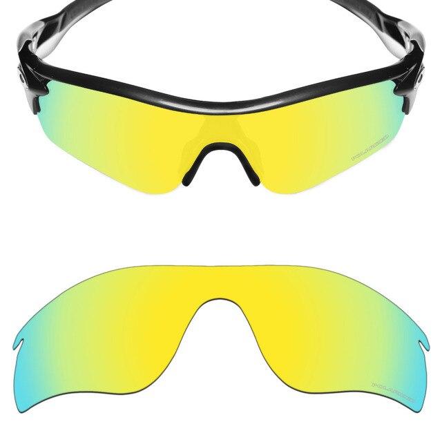 6e7e2f12a1 Mryok+ POLARIZED Resist SeaWater Replacement Lenses for Oakley RadarLock  Path Sunglasses 24K Gold