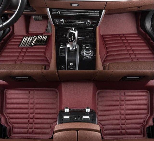 For Jeep Grand Cherokee 2017 Car Floor Mats Foot Mat Step High Quality Brand New Waterproof Convenient Clean