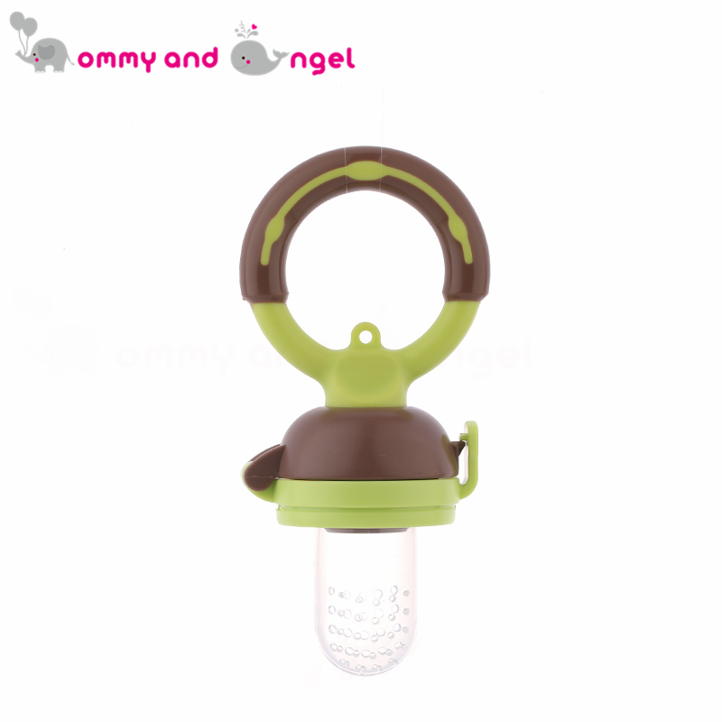 HOT SELLING Classic Baby Feeding Bottles Safety Fresh Food Fruits Milk Nibbler Feeder Feeding Tool (Size:S-M-L,2 Colour,PA-018)