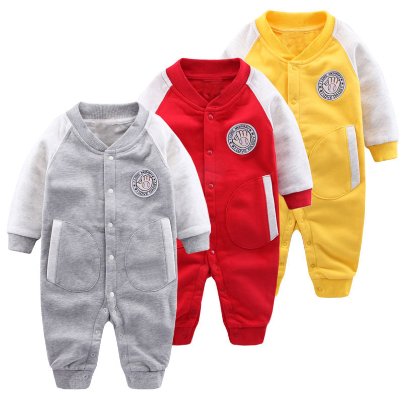 Newborn Baby Rompers Baby Clothing Set Spring Autumn Cotton Infant Jumpsuit Long Sleeve Girls Boys Rompers Costumes Baby Romper купить
