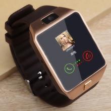 Men Women Bluetooth Smart Watch Smartwatch DZ09 Fitness Tracker Passometer SIM Card Camera for iPhone xiaomi huawei PK GT08 A1