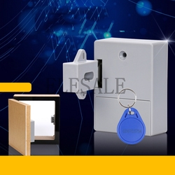 2019 RFID Versteckte Schublade Schloss Möbel Schreibtisch Schrank Locker Lock Sicherheit Smart Home Tür Schrank Kinder Schlösser Drop verschiffen