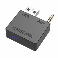 CHELINK AUX Bluetooth 4.0 USB adapter cable Handsfree Auto Bluetooth Transmitter Receiver Fits for Hyundai Kia Sedon Sorento