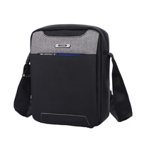 SINPAID Cool Men Anti Theft Messenger Bag Splashproof Single Shoulder Bag Anti Theft Zipper Buckle Anti