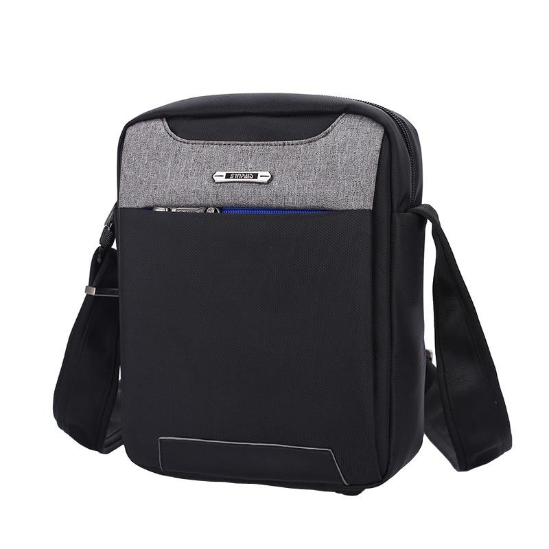 SINPAID Cool Men Anti-theft Messenger Bag Splashproof Single Shoulder Bag Anti Theft Zipper & Buckle Anti Bacteria Material 3502080 canemu anti theft simulator