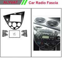 Black Double Din Car Radio Fascia For 2006 Ford Fiesta Focus European Right Hand Car Dash