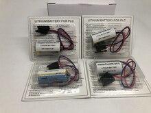 MasterFire 8pcs/lot New Original ER17330V/3.6V ER17330V 3.6V MR-BAT Lithium PLC Battery TYPE-MRBAT Li-ion Batteries with plugs