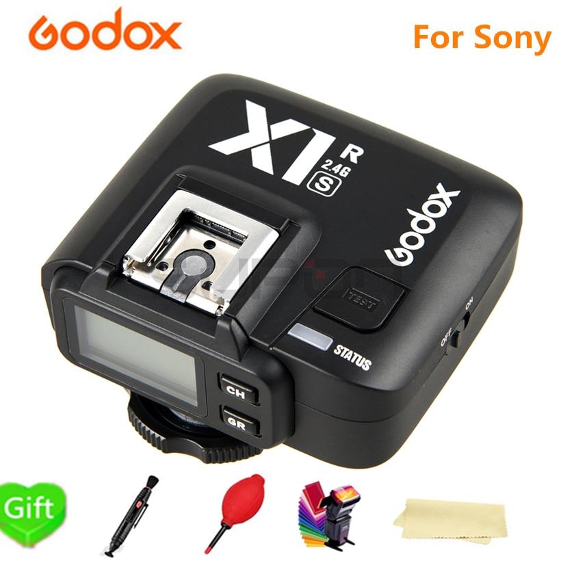 GODOX X1R S TTL 2.4G 1/8000 s HSS récepteur Flash sans fil pour Sony A58 A7RII A7II A99 A7R A6300 X1T S xpro s transmetteur de déclenchement-in Déclencheur from Electronique    1