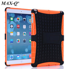 "Shockproof Heavy Duty Hybrid Armor Hard Stand Tablet Case Protective Cover For iPad Air 1 for iPad 5 9.7"" free Screen protector"