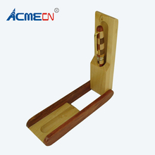 ACMECN High Quality Office & School Pen gift Novelty Design Hand-made Natural Maple and Rosewood Patchwork Wooden Pencil Box