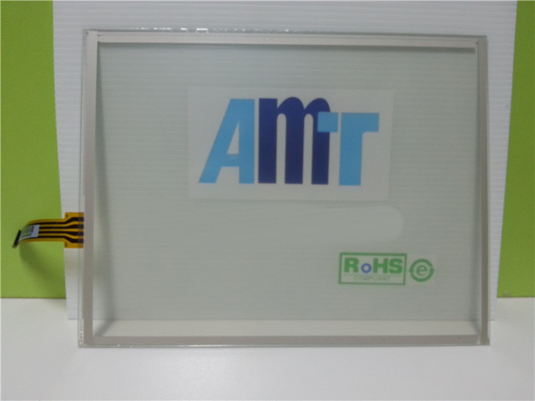 AMT9537 AMT 9537 10 4 inch 4 wires Resistive Touch Glass Panel For machine Repair New