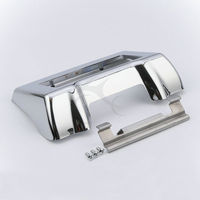 TCMT Motocycle Chrome Oil Cooler Outer Cover Kit For Harley 11-16 Trike Touring Electra Street Glide Road King FLHX FLTRX FLHTCU
