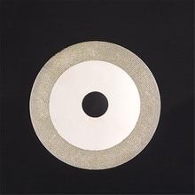 100 мм Алмазный титановый отрезной диск Золотое шлифование отрезать колеса лезвия роторный инструмент используется для измельчения камня стекла