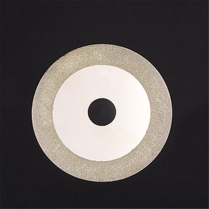 100 mm Diamond Titanium Cuttering Disc Gold Grinding Cut Off Wheel Blades Rotary Tool used to Grind Stone Glass(China)