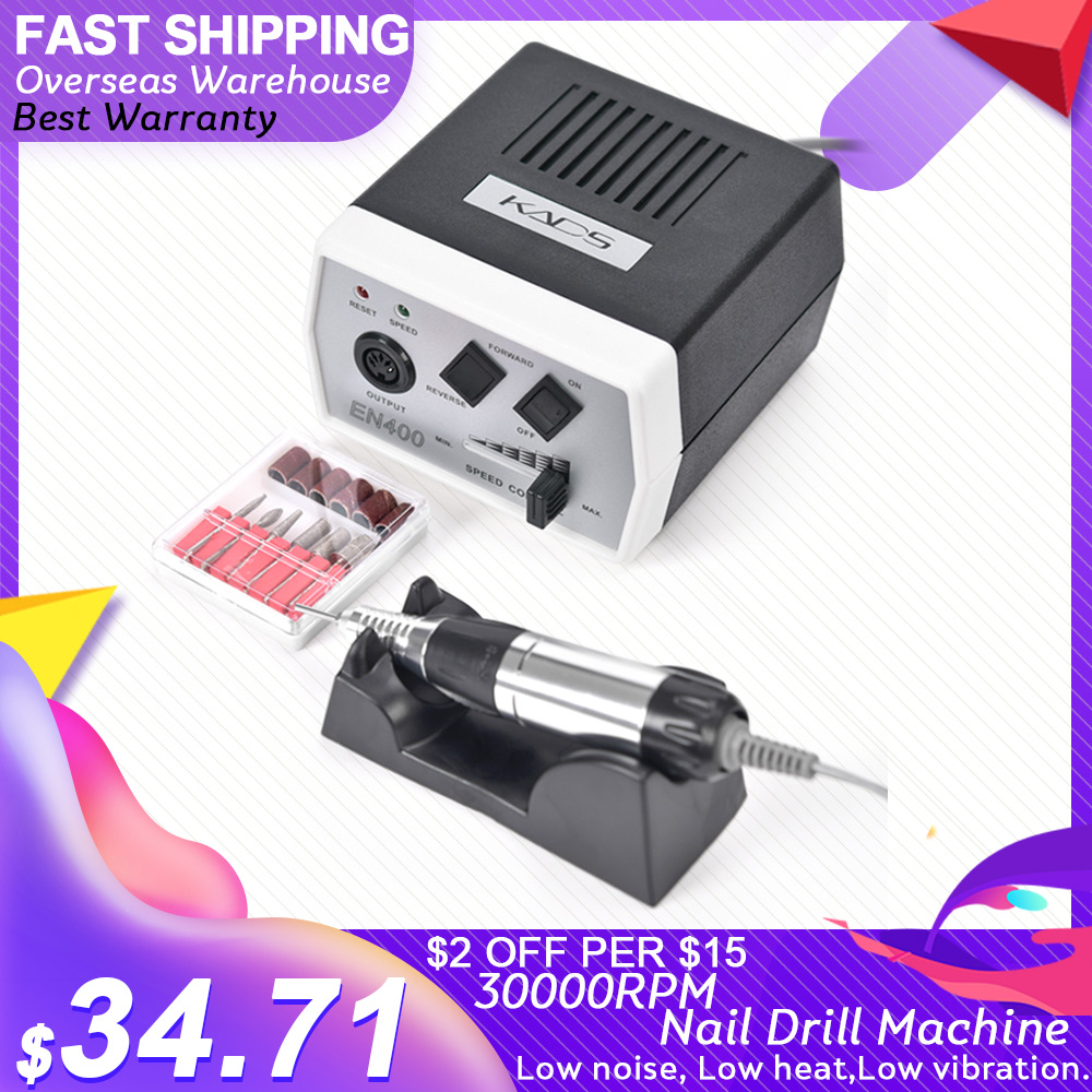 AriesLibra EN400 Pro Electric Nail Drill Machine Nail Art Equipment Manicure Pedicure Files Manicure accessories and
