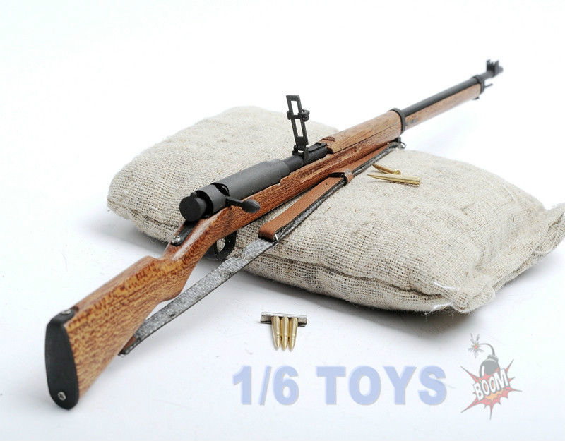 Seconde guerre mondiale japon soldat arme modèle 1/6 échelle Arisaka ti-lite T8007 métal 38 fusil pistolet Collections