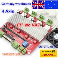 EU free VAT 4 Axis CNC TB6560 stepper motor driver interface card CNC controller board V type for CNC Router Engraving Milling