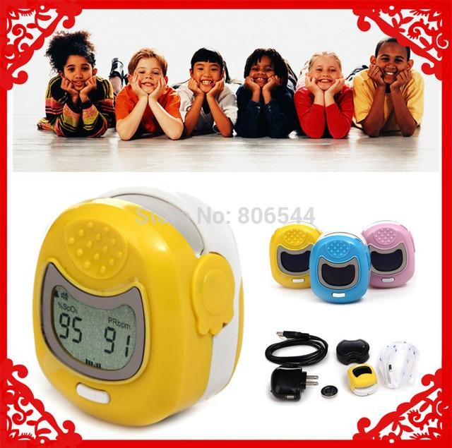 Christmas Big Sale *Retail & Wholesale - Kids Use Fingertip Pediatric Pulse Oximeter Spo2 Monitor for Children US-98