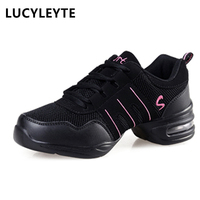 DS001 EU35 42 Sports Feature Soft Outsole Breath Dance Shoes Sneakers For Woman Practice Shoes Modern