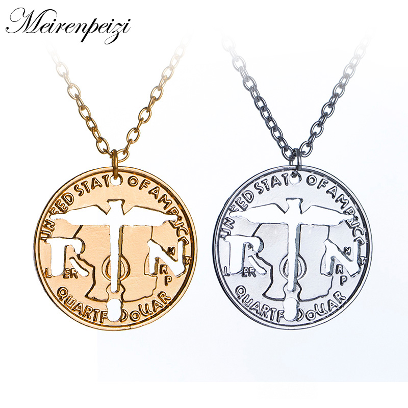 Caduceus Angel Nursing Themed RN Medical Symbol Pendant Necklace Gifts For Doctor & Nurse -in Pendant Necklaces from Jewelry & Accessories on Aliexpress.com ...